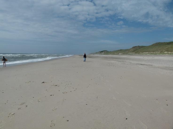 schöner Strand in Norre Lyngvig