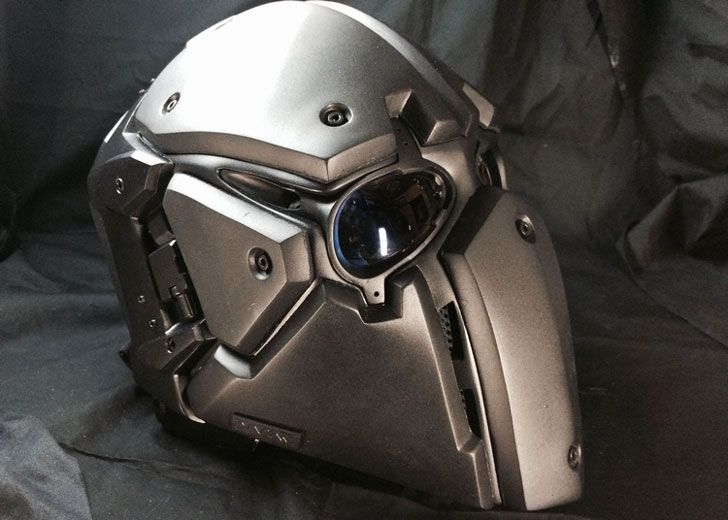 The Devtac Ronin Kevlar Tactical Helmet Is A Bulletproof Beauty That Looks Like It Came Out Straight From The Set Of A Star Wars Movie Tactical Helmet Helmet Ballistic Mask