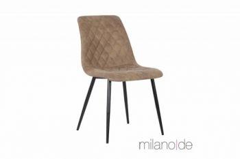 Καρέκλα Caio με δυνατότητα επιλογής απόχρωσης και με μεταλλικά πόδια. Μια ιδιαίτερα αναπαυτική καρέκλα όπου η κλίση που έχουν τα πόδια της προσθέτει επιπλέον σταθερότητα.  https://www.milanode.gr/product/gr/2375/karekla_caio.html