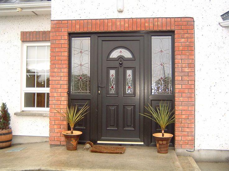Black PVC Doors