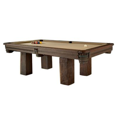 GroovyStuff TF-0440 Chris Bruning Timber Lodge Billiard Pool Table - Sporting Goods Central    $8500