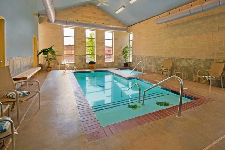 Swiming Pools Long Hand Rails With Wooden Pool Chairs Also Blazer Towel Colored And Indoor Poolin Ground Steps Besides Wall Decorations  In Groun Liner Accessories  Pool Spa  Wooden Pool Table  Tile Pool Flooring   The Benefit in Having Amazing Indoor Pools