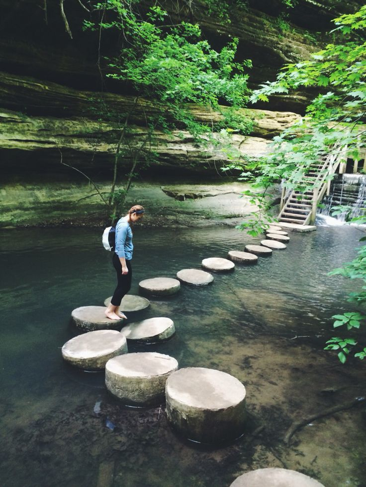 Matthiessen State Park, IL.  Like this photo :)  #lovetotravel #funtravel