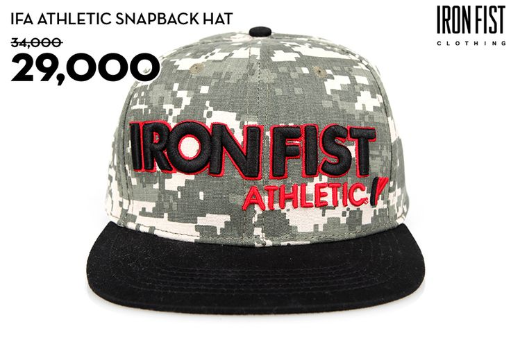 IFA ATHLETIC SNAPBACK HAT (CAMO) / 34,000원 → 29,000원 http://www.ironfist.co.kr/shop/goods/goods_view_athletic.php?goodsno=433  #ironfist #아이언피스트 #athletic #운동 #건강 #피트니스 #스포츠 #모자 #스냅백