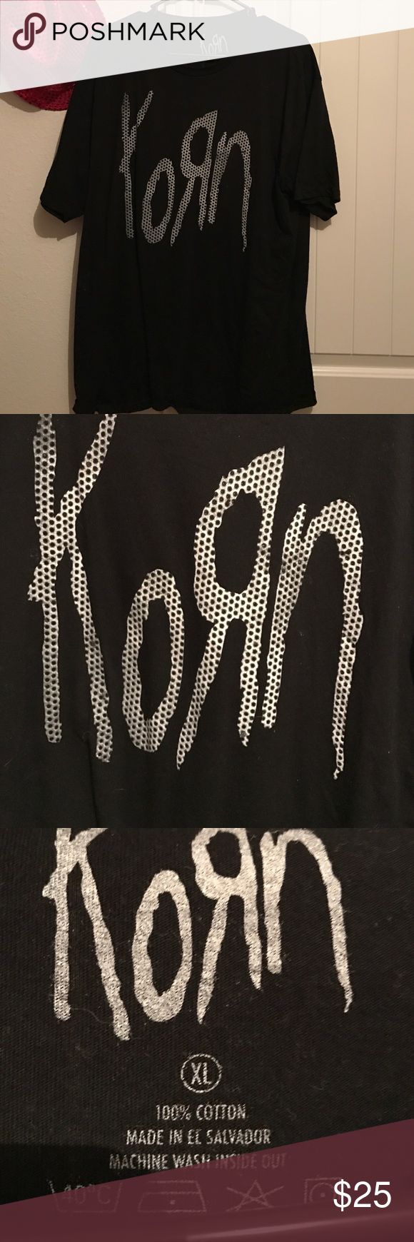 Concert shirt Got at Korn and Rob Zombie concert this past year. Great concert and awesome shirt. Just never get to wear it. korn Shirts Tees - Short Sleeve