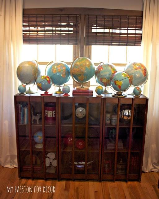 My Passion For Decor Mid Century Restore Cabinet Globe
