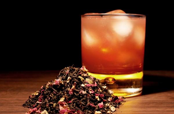 rosy-persian #tea #cocktails