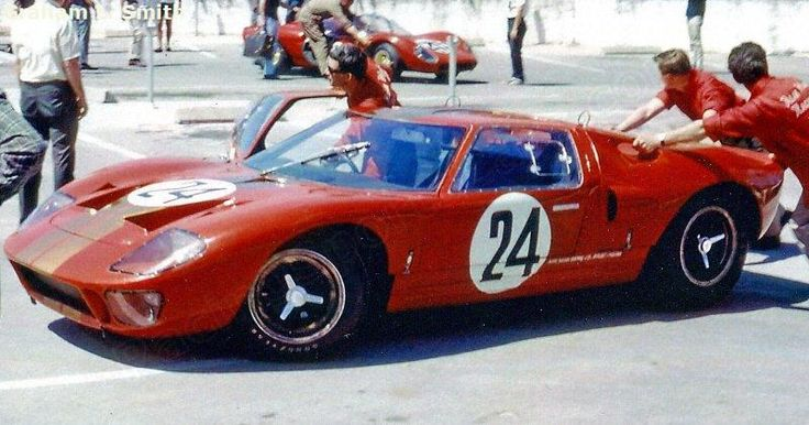 24 - Ford GT40 #AM GT-2 - Alan Mann Racing Sebring 12 Hours 1966