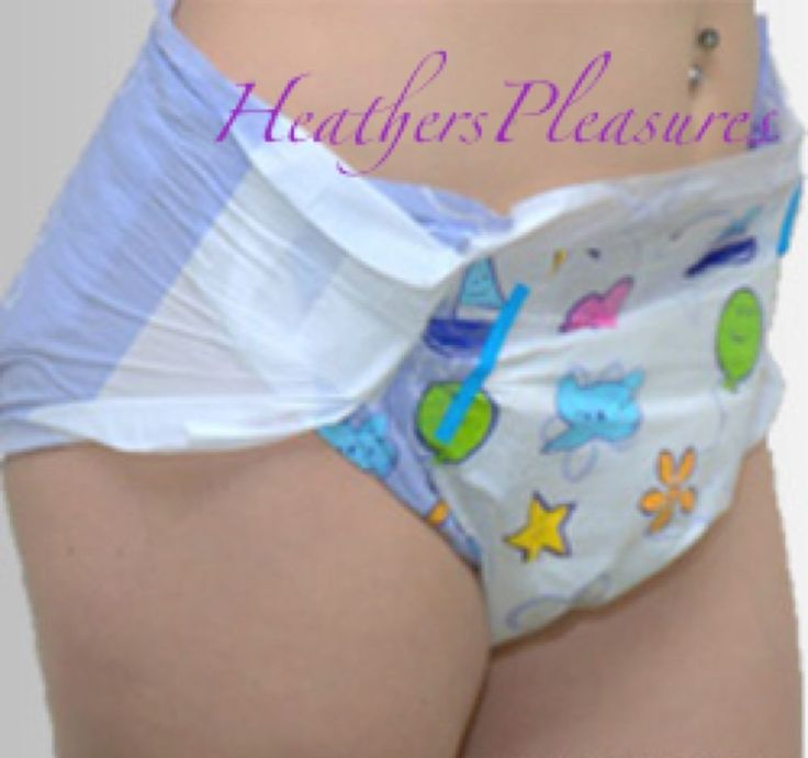 Abdl Adult Diapers 10 Cushies Size M Medium Baby Noisy 32