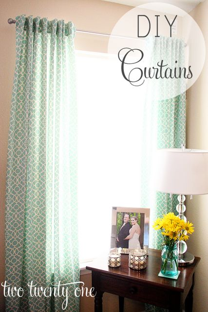 78+ images about Turquoise curtains on Pinterest | Urban ...