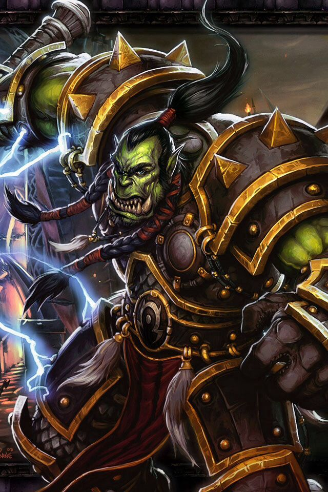 warcraft thrall wow - photo #6
