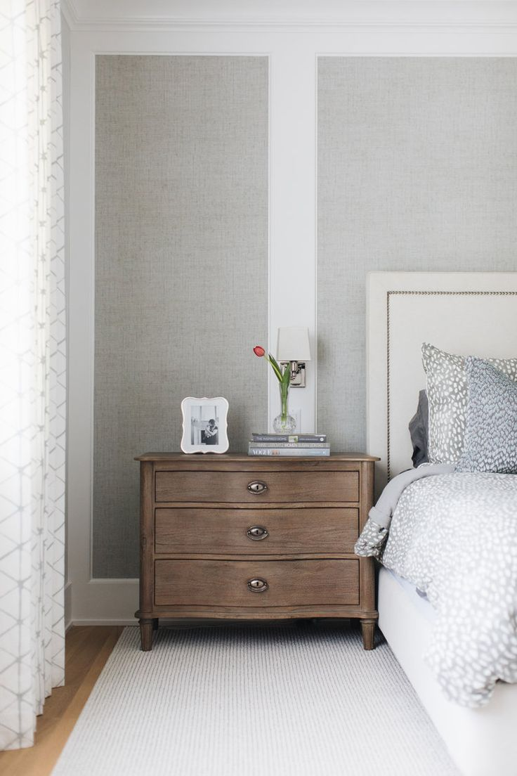 Best Large Wood Nightstand Chest Of Drawers Next To The Bed 400 x 300