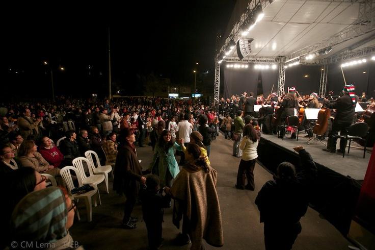 El 11 de diciembre estuvimos en el Parque Serafina en la localidad de San Cristobal.