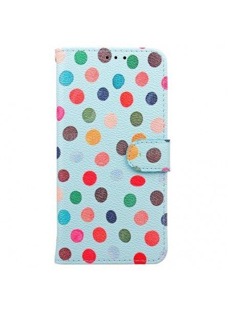 Housse Samsung Galaxy S8 Polka Dots - Bleu