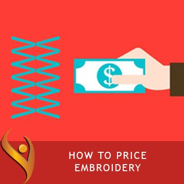 I developed a Simple System to show you how to price embroidery and help you create your own profitable pricing structure! Online video based program .