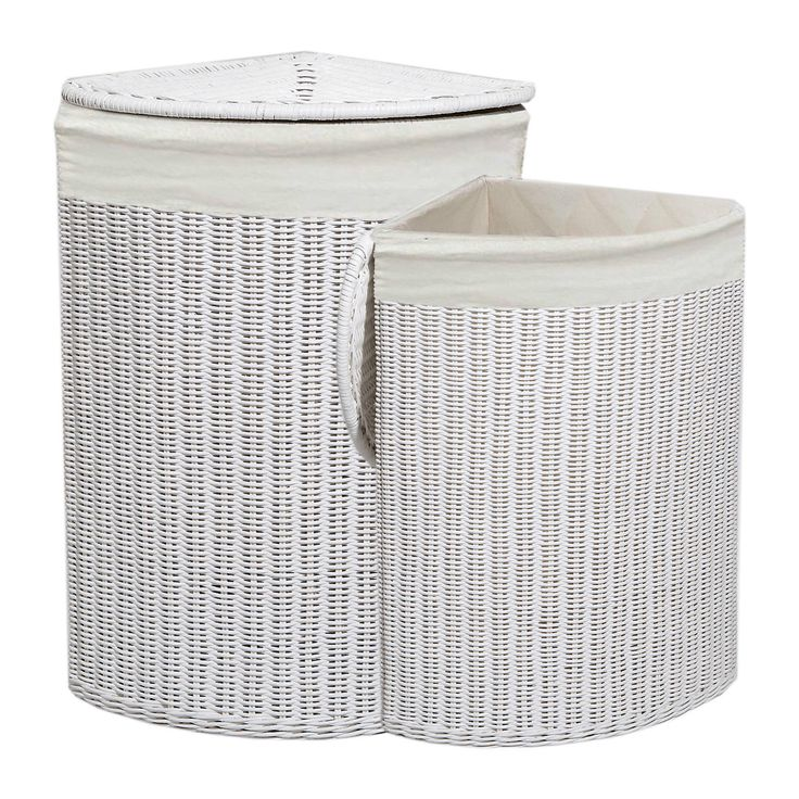 17 Best Ideas About White Wicker Laundry Basket On