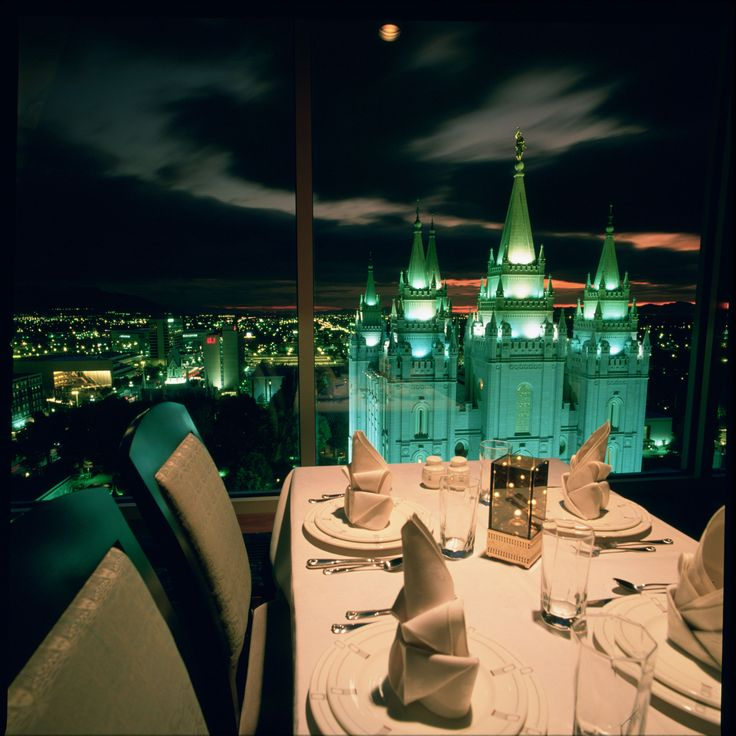 The Roof Restaurant Fine Dining Salt Lake City