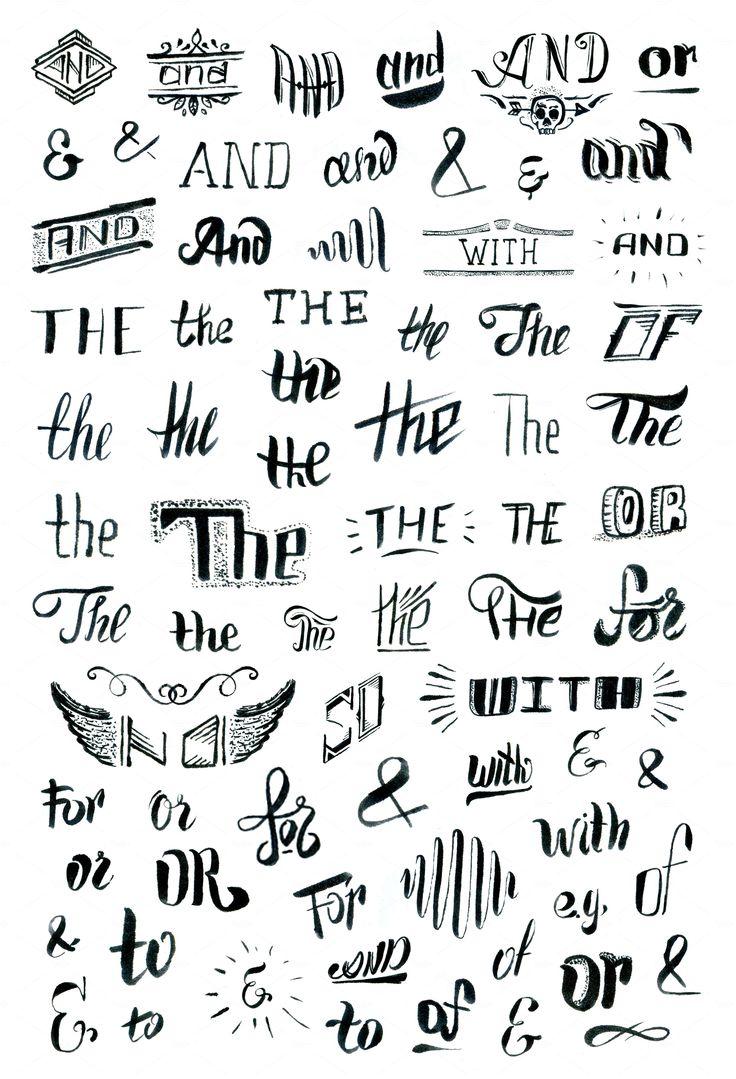 Mejores 97 imágenes de lettering, caligrafía, tipografía