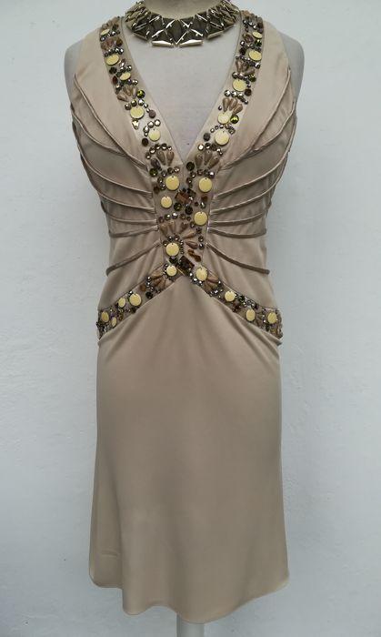 08603ac64 Blumarine - Prachtige jurk met kristallen versiering | Dresses in ...