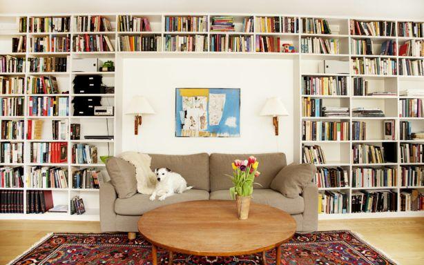 Platsbyggd bokhylla – Jerker Inredning & Form   Home library