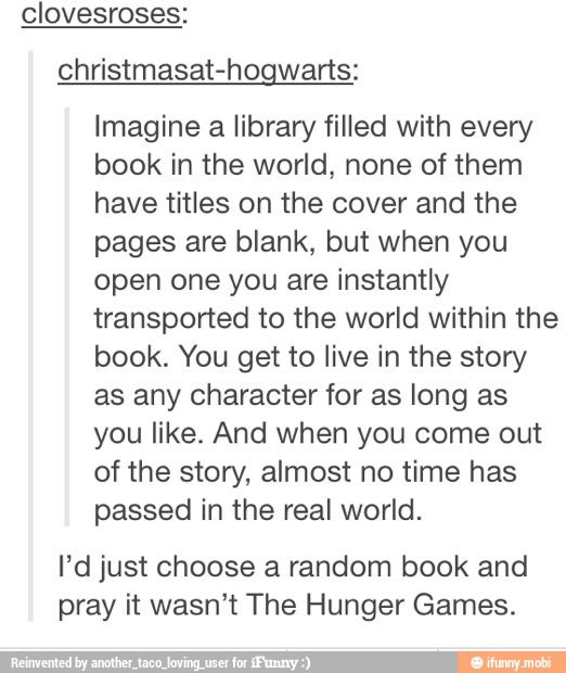 This would be amazing! and that comment is great haha