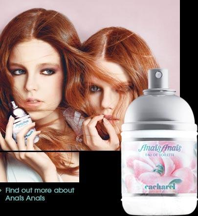 Cacharel Anaïs women's fragrance