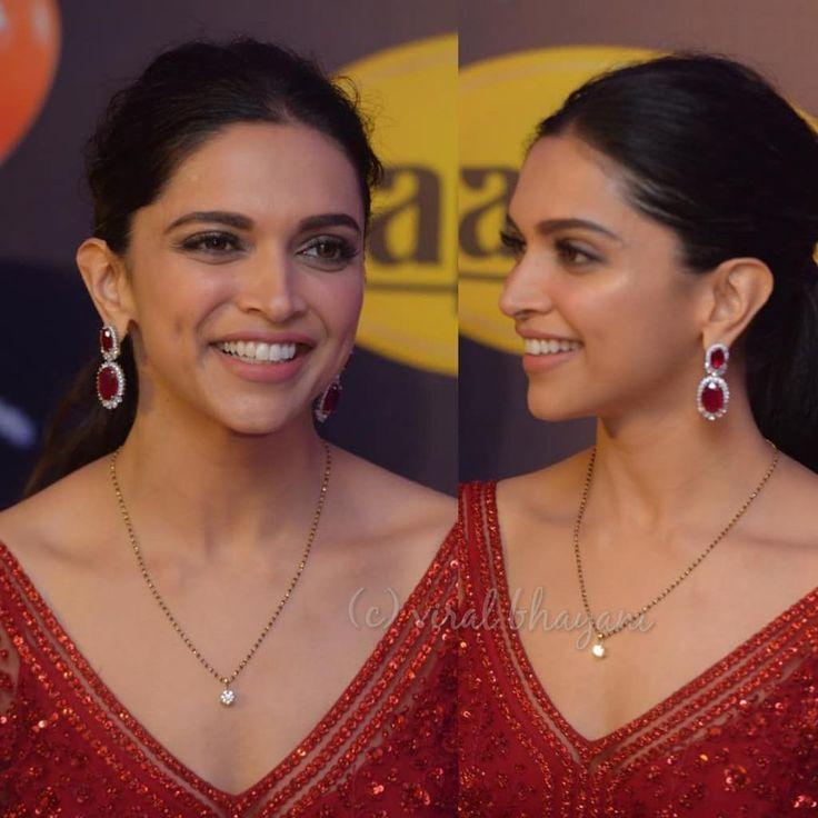 Deepika Padukone | Gold mangalsutra designs, Diamond ...