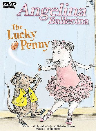 Angelina Ballerina - The Lucky Penny (DVD, 2003) Judi Dench Adrienne Posta