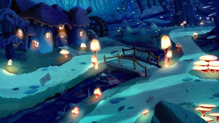 Backgrounds: Gnome Village Farm House by Scummy on deviantART