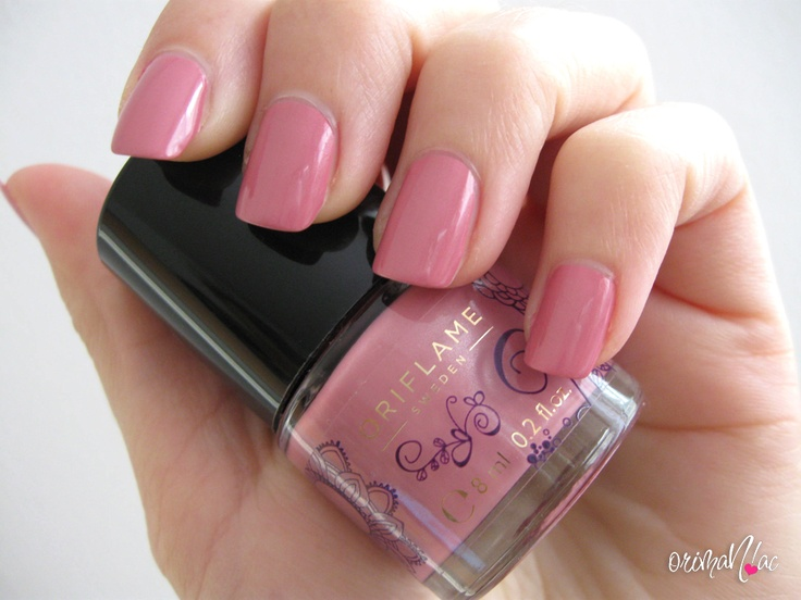 Oriflame - Pure Colour Floral Nail Polish - Bright Pink