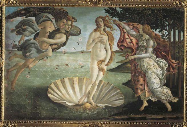 Sandro Botticelli: La nascita di Venere