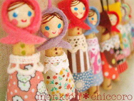 monkton*オリジナルハンドメイド雑貨shop peg dolls