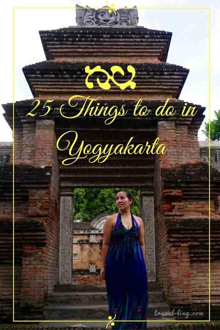 What to do in Yogyakarta, Indonesia