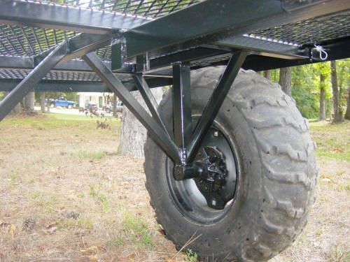 off road trailer axle idea