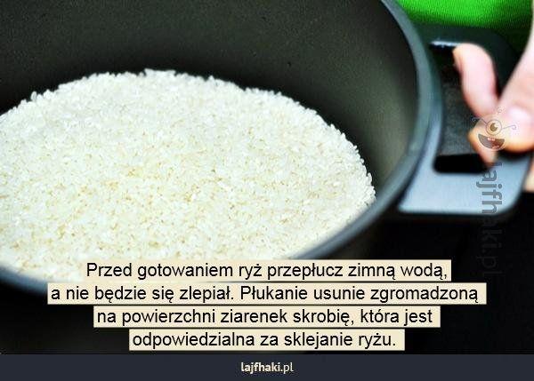 Jak ugotować ryż na sypko? - pomysły, triki, sposoby, lifehacki, porady