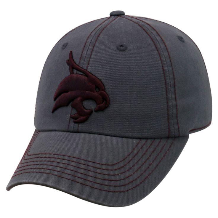 Baseball Hats NCAA Texas State Bobcats Rich Charcoal, Men's