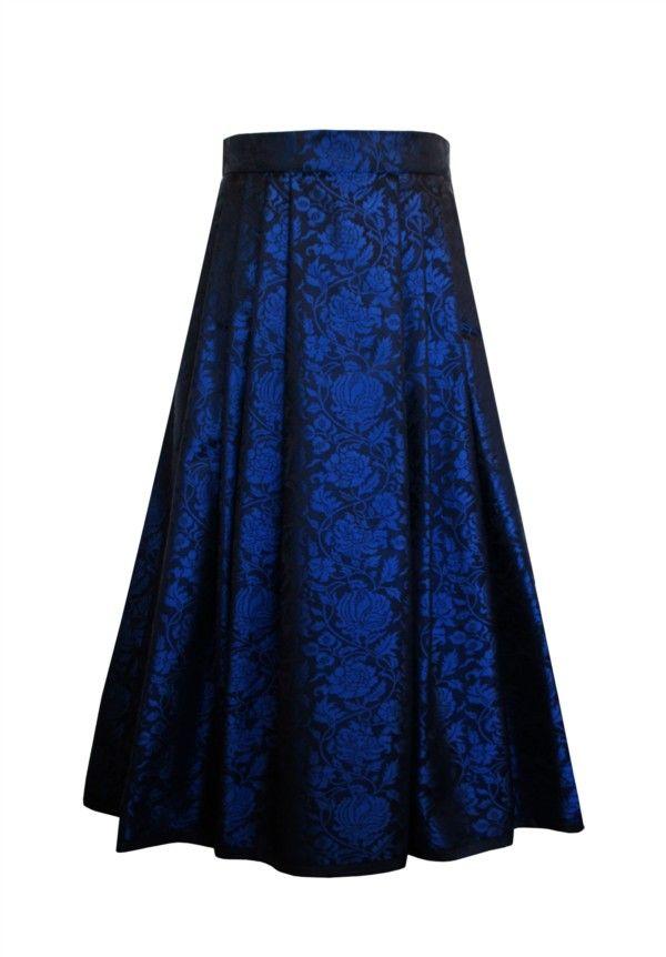 Silk skirt Design 83-2 from Oleana