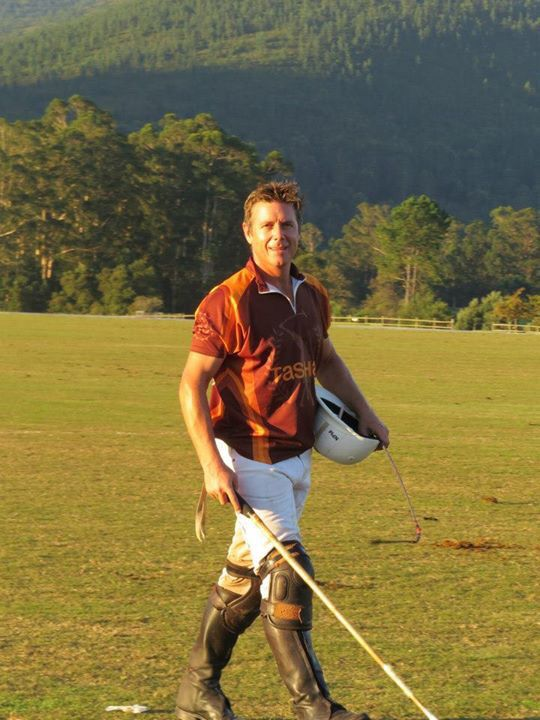 House & Garden SA - polo player Doug Lund of Newstead Wines