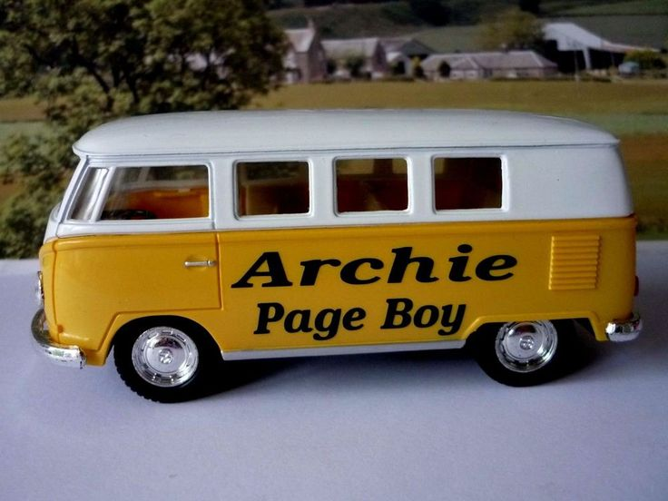 Name, Wedding Role, Bride and Groom Names and the Wedding date. Just let me know your choice of Name, Wedding Role, Bride & Groom Names and Wedding Date after buying either through. Yellow & White VW Camper Bus. | eBay!