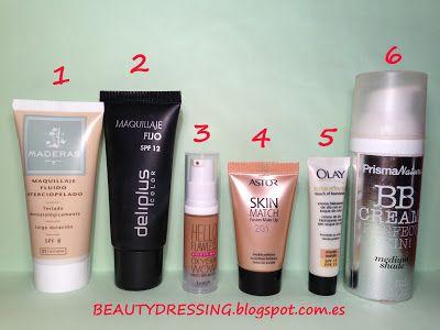 Beauty Examen: BB creams, foundation, makeup