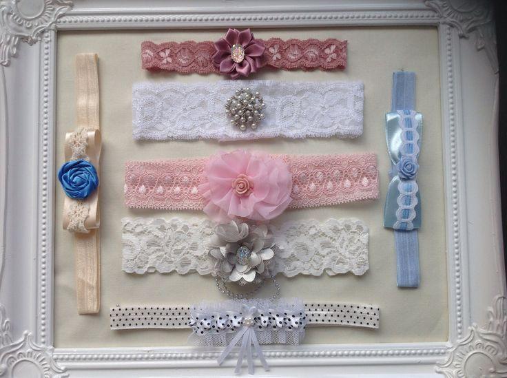 Luxury bespoke handmade wedding garters from Lilly Dilly's  #wedding #garter #bespoke #handmade #luxury