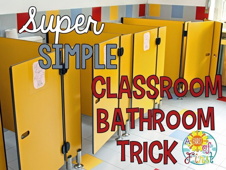 Management Tip: Super easy and nifty trick for sending your students to the bathroom.