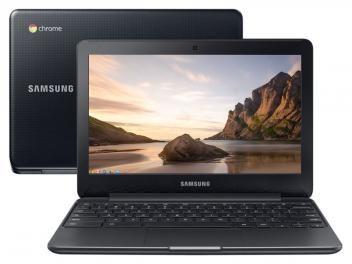"Notebook Samsung Chromebook Connect - Intel Dual Core 2GB 16GB LED 11,6"" Google ChromeOS"