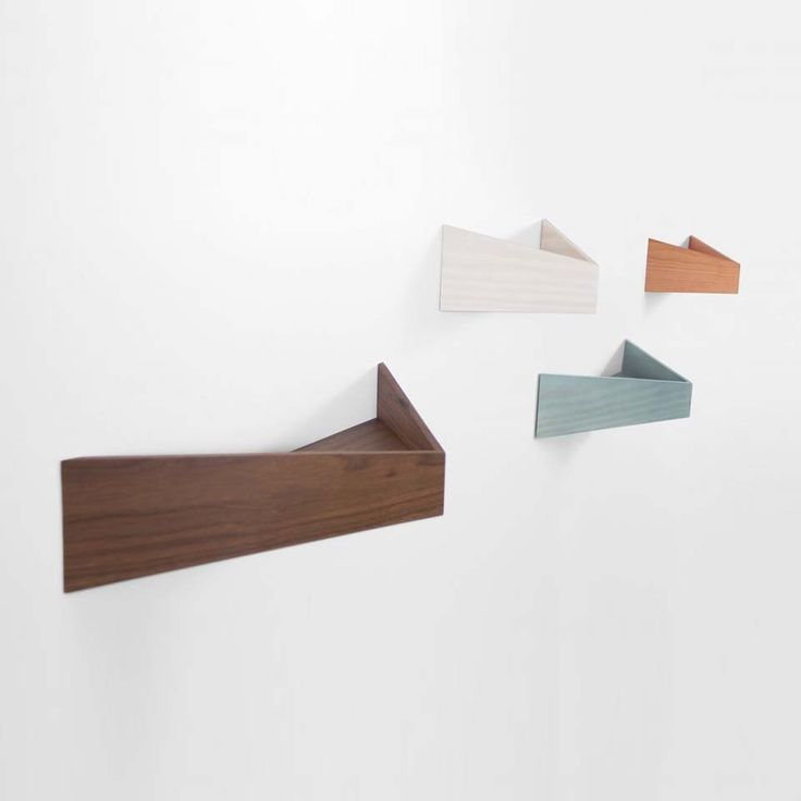 'Pelican' by Daniel Garcia Studio for Woodendot. #morfae #danielgarciastudio #woodendot #shelves #design