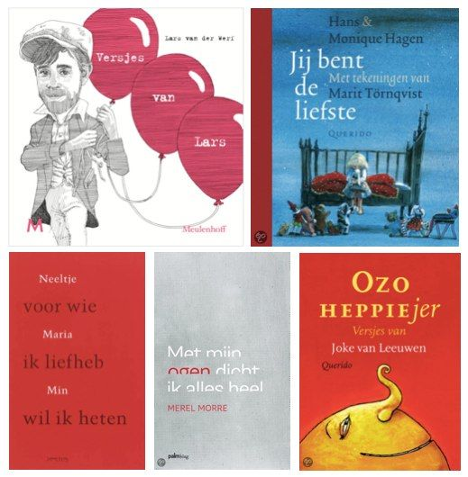 Top5 - Mooiste gedichtenbundels