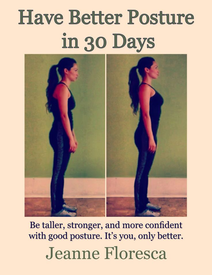 """Better Posture in 30 Days - Guaranteed - It is a step-by-step program to systematically train your brain, bones, joints, and muscles to stand taller, be """"pulled-in"""", and help you project your best self."""