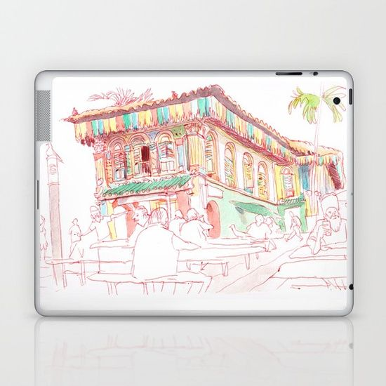 Little India Laptop & iPad Skin by World Sketching Tour - Luís Simões | Society6