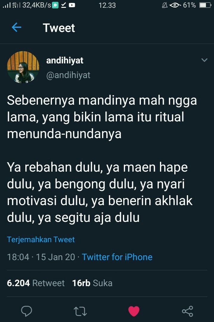 Pin Oleh Nisa Khusna Di Quote Tweet Di 2020 Motivasi