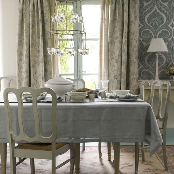 Provence Interior Design. French Dining RoomsGray ...