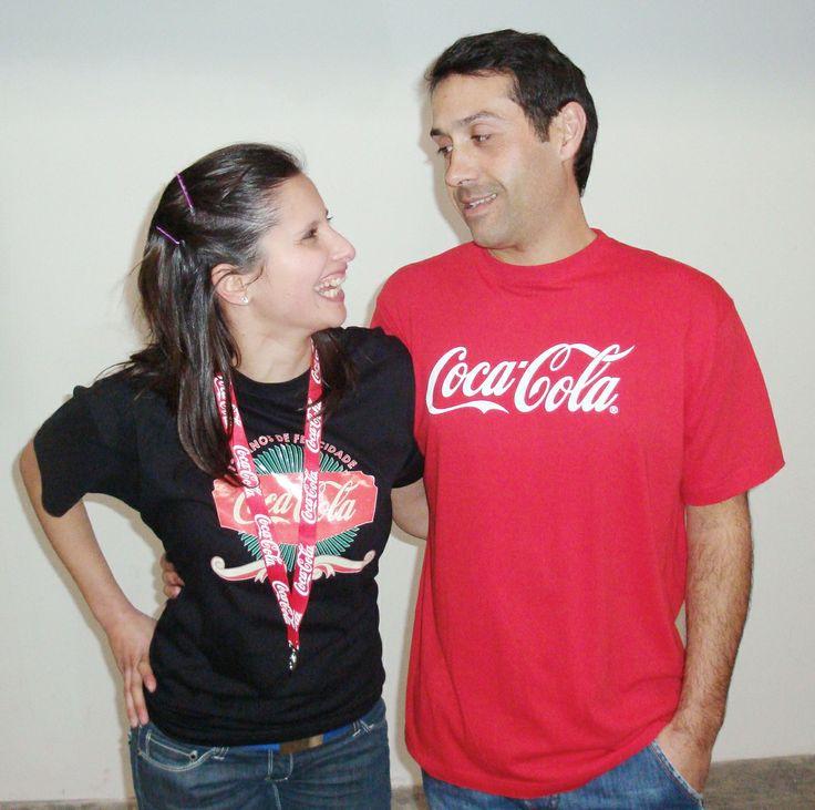 T-shirts para a Coca-Cola  #Store #Whatstore #tshirts #brindes #merchandising #textil #promocional #publicidade #marketing #coca-cola #trabalhos #brindespromocionais #merchandising